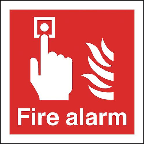 200x200mm Fire Alarm - Rigid