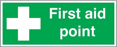 100x250mm First Aid Point - Rigid