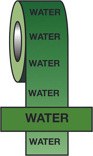 150mmx33m Water BS Pipeline Marking & Identification Tape