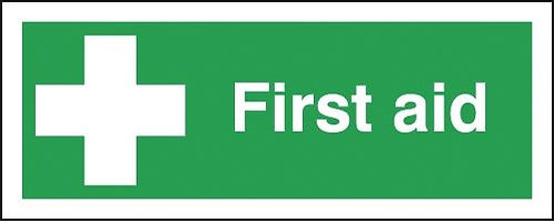 150x300mm First Aid - Self Adhesive