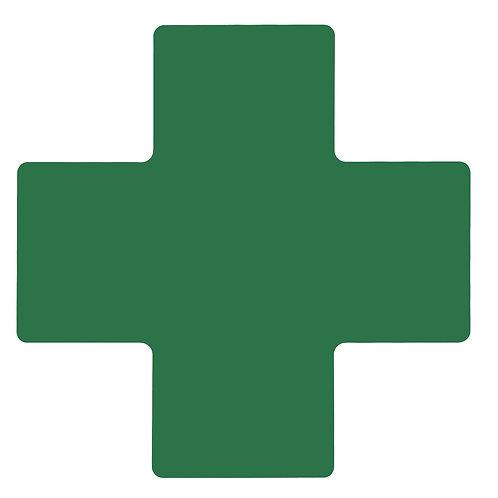 "2"" X 5"" Green Floor Crosses Pack of 20"