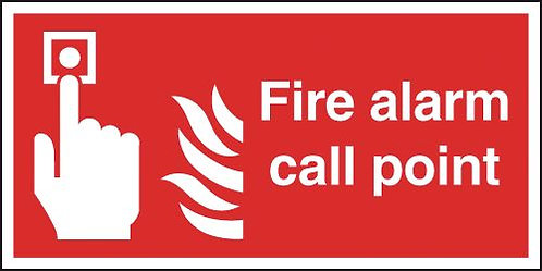 100x200mm Fire Alarm Call Point - Rigid