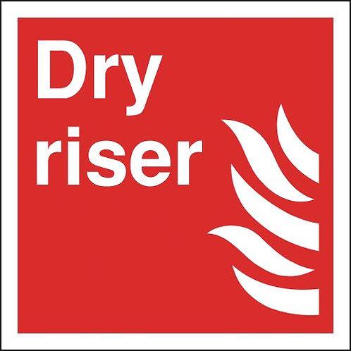200x200mm Dry Riser - Rigid