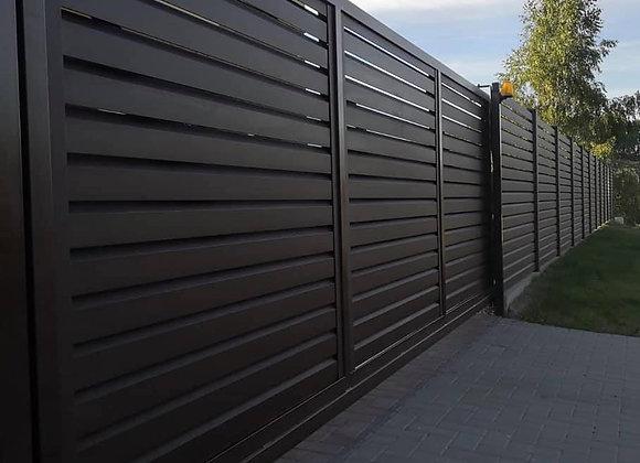 Fence Panel Profile -  MODERN