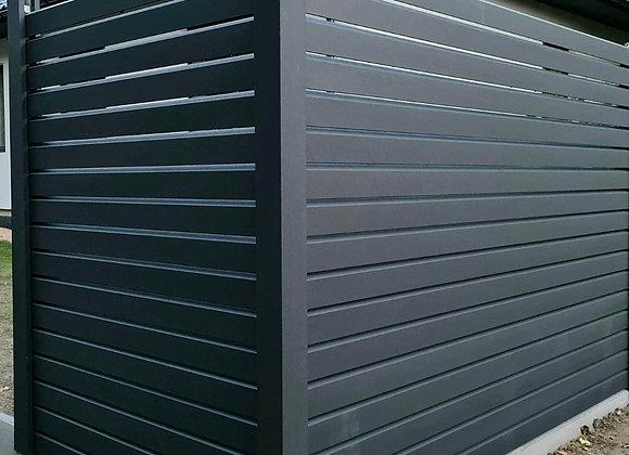 Fence Panel Profile - DIAMOND