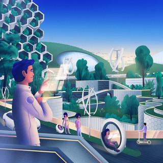 Les toits du futur