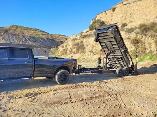 Lamar Hydraulic Dump Trailer