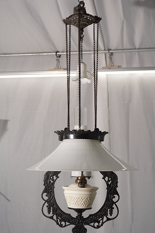 Victorian Hanging Oil Lamp