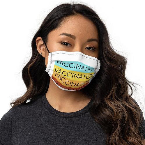 Premium face mask-VACCINATED