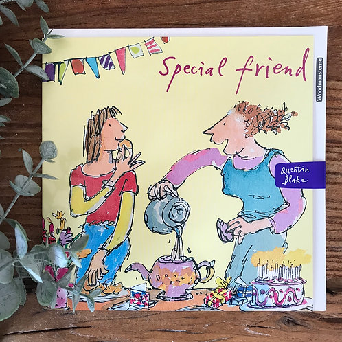QUENTIN BLAKE SPECIAL FRIEND CARD