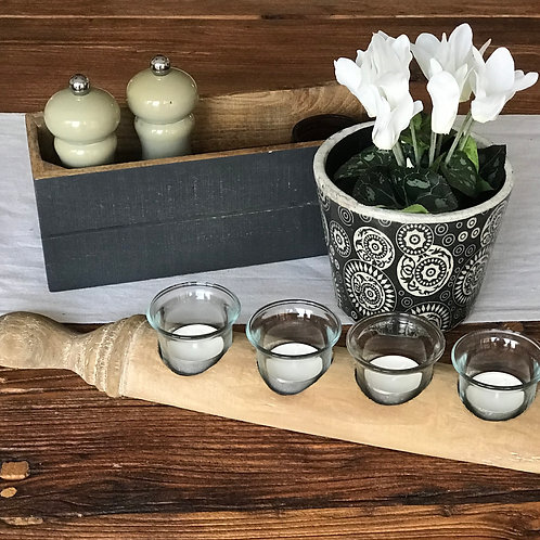ROLLING PIN TEA LIGHT HOLDER