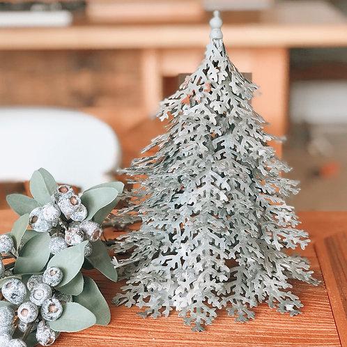 CHRISTMAS TREE METAL ORNAMENT
