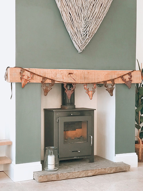 STAG DECORATIVE BUNTING