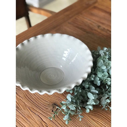 LIGHT GREY SALAD BOWL