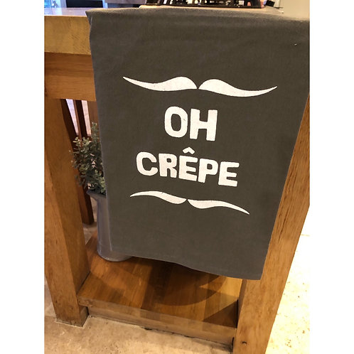 OH CREPE TEA TOWEL