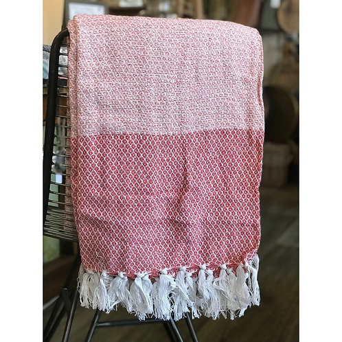 PINK DIAMOND THROW