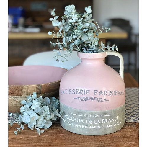 PATISSERIE CERAMIC BLUSH PITCHER