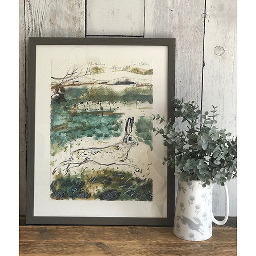 SAM WILSON HEATHLAND FRAMED PRINT