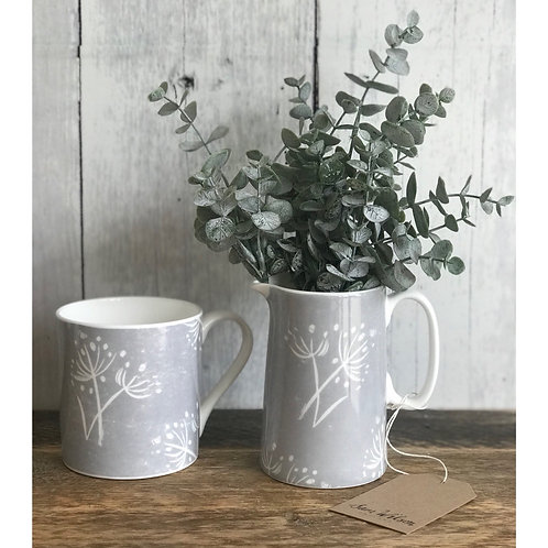 SAM WILSON PARSLEY SEED GREY MUG