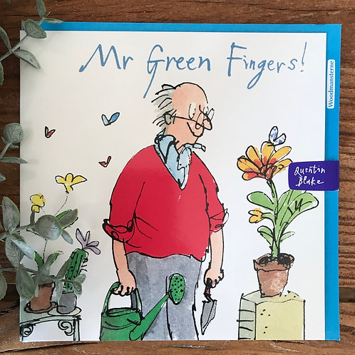 QUENTIN BLAKE MR GREEN FINGERS CARD