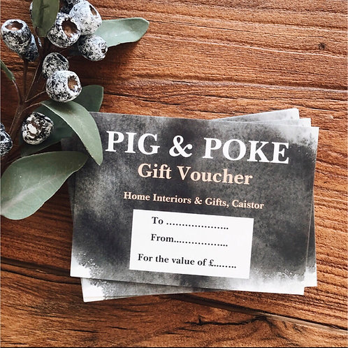 £60 GIFT VOUCHER (enter code gift voucher at checkout to receive free shipping)