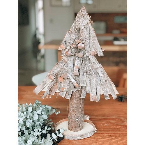 GLITTERY BARK TREE