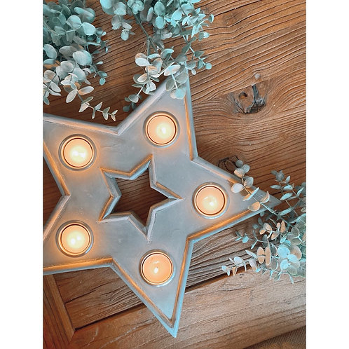 STAR MULTI TEALIGHT HOLDER