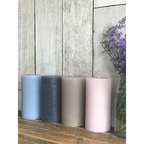 XL PILLAR CANDLE (4 colours)