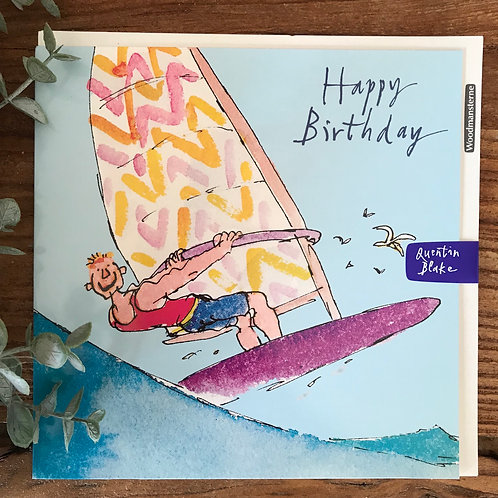 QUENTIN BLAKE HAPPY BIRTHDAY CARD