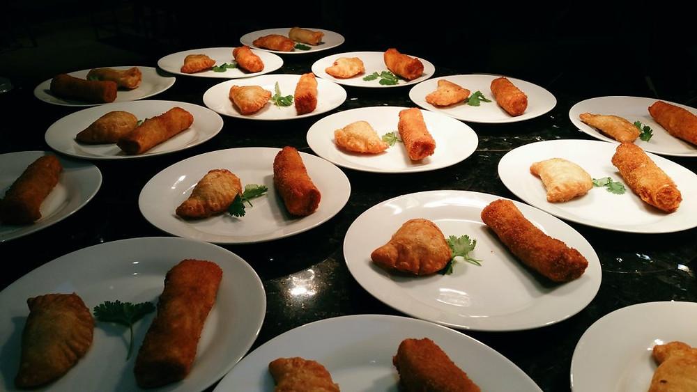 Sri L Catering - mutton rolls, fish pattis, shorteats, starters