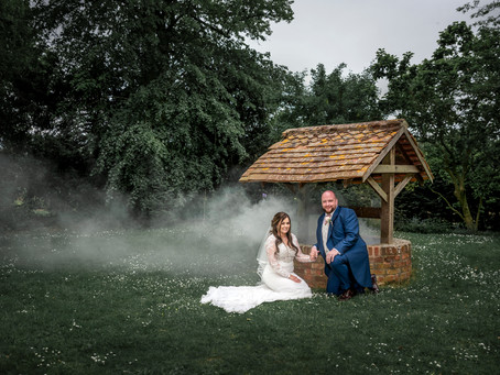 Wedding of Claire & Craig st Horwood Estate