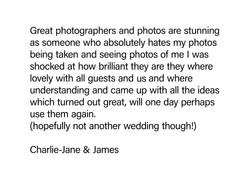 Charlie & James