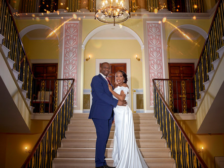 African Wedding of Sade & Wale at Wherstead Park Mansion in Suffolk.