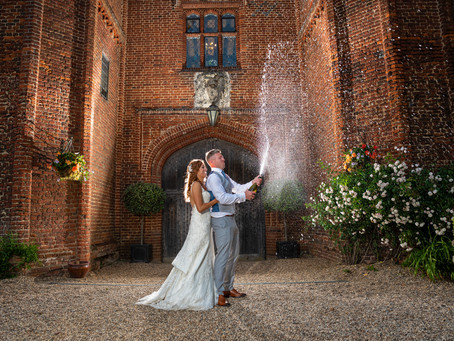 Leez Priory Wedding of Dan and Kara