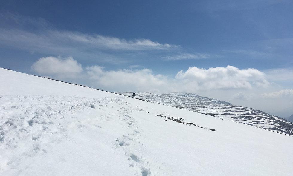 Winter hiking in Glen Coe - 02 Feb