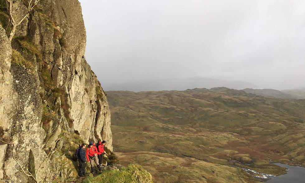 Scrambling in The Lake District - 27 Oct