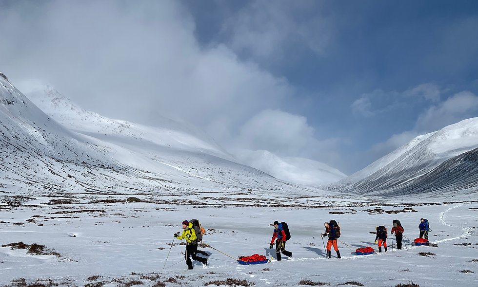 Winter Traverse of The Cairngorms - 11 Feb