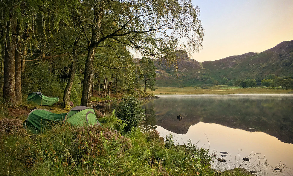 Wild Camping in The Lake District - 13 Aug