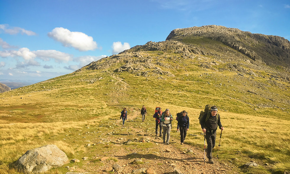 Traverse of The Lake District - 04 June