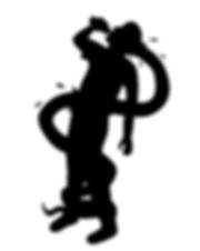 Evil Water logo illustration by Patricia Maldonado