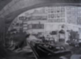 Under the Queensborough Bridge illustration by Patricia Maldonado