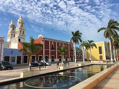 Campeche, Mexico, a beautiful town in the Yucatan Peninsula