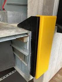 loading bay sliding dock buffers 7
