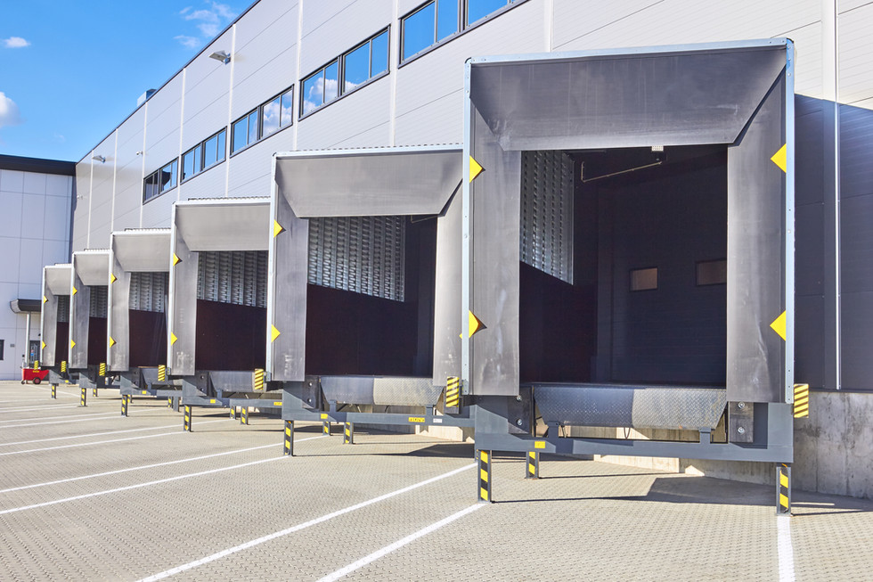 Loading Dock Bay Doors at Distribution W