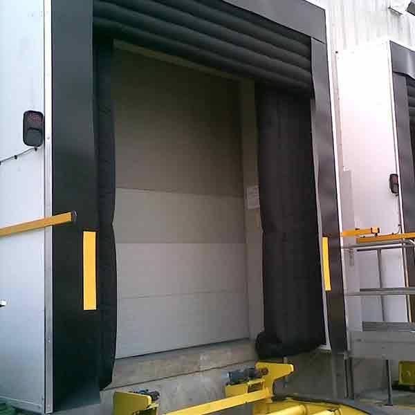 loading bay inflatable dock shelter