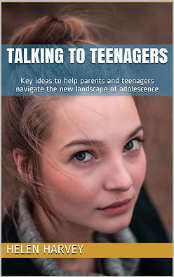 A book on Teenagers and help for parents Helen Harvey Therapist