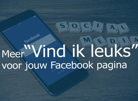 """Meer """"Vind ik leuks"""" voor de Facebookpagina van jouw Hotel of B&B!"""