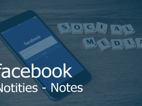 Wat zijn Facebook Notities – Facebook Notes