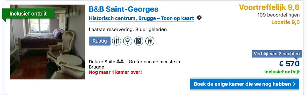 Screenshot Booking.com