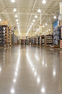 Commercial Flooring, Polished Concrete